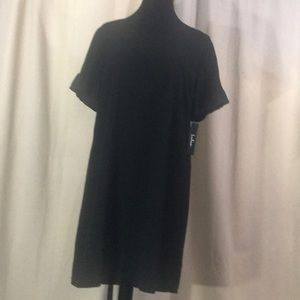 Lulus black swing dress